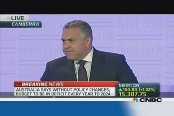 Australia inherited deficit from Labor: Joe Hockey