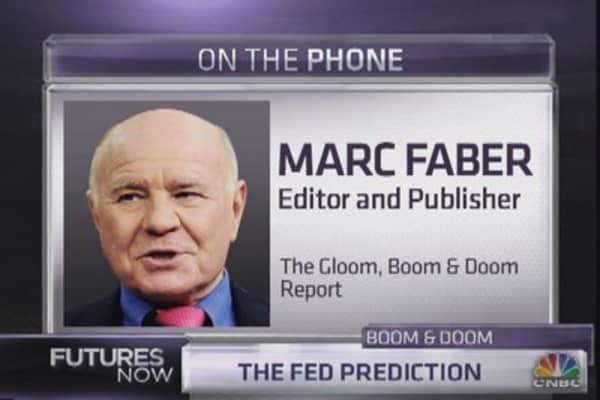 Marc Faber's take on stocks