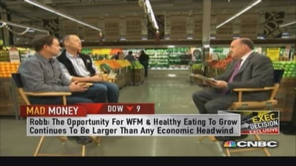 We owe part of success to healthier eating trend: Whole Foods co-CEO