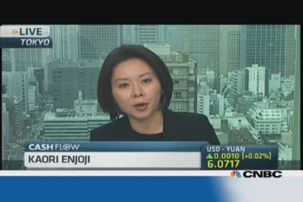 Yen resumes decline on reform rumors