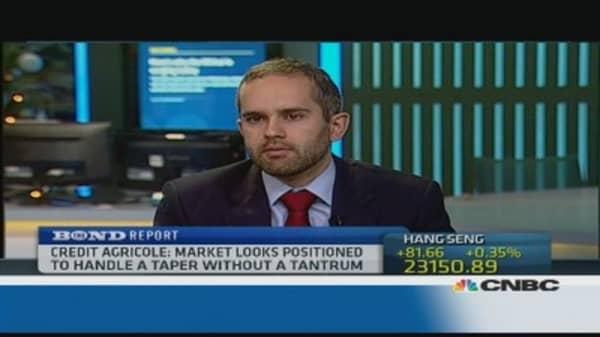 Bond market would see 'knee-jerk' taper reaction: Pro