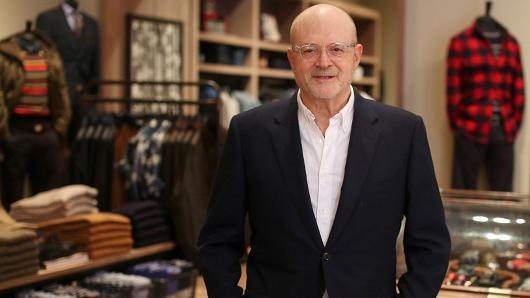 Mickey S. Drexler, chief executive officer of J. Crew Group.