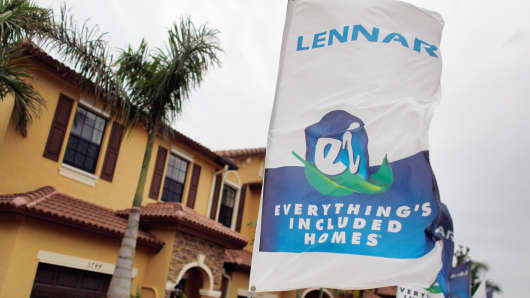 Lennar Corporation (LEN) -Sizzling stock