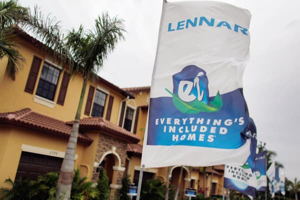 New homes for sale by Lennar home builders.