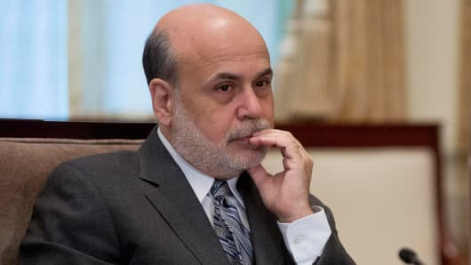 Ben S. Bernanke, former chairman of the U.S. Federal Reserve.