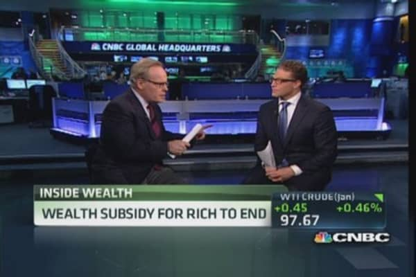 QE boost to the wealthy
