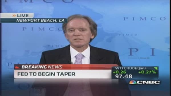 Bill Gross: Policy rate at firm 25 basis points into 2016