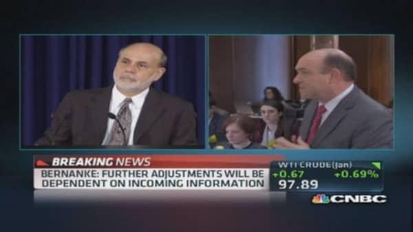 Bernanke: Will remain data-dependent