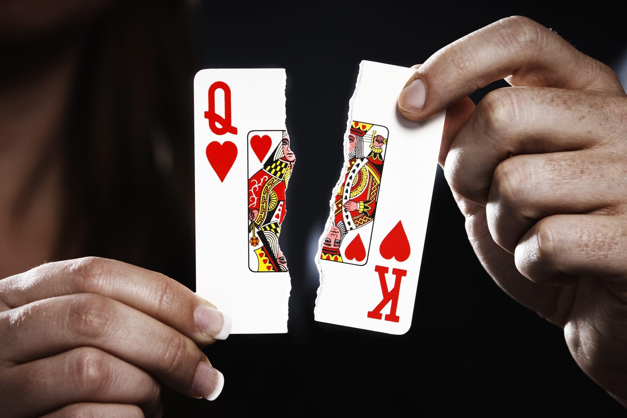 Liquidating assets before divorce advice