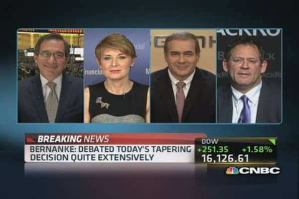 Fed Tapers: Bond market unchanged, equities not listening