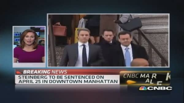 SAC's Steinberg sentenced April 25th