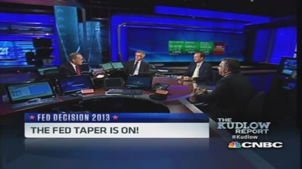 Taper 'sigh of relief' for market: Pro