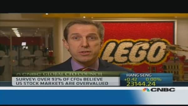 'Digitalization' something we need to respond to: Lego CFO