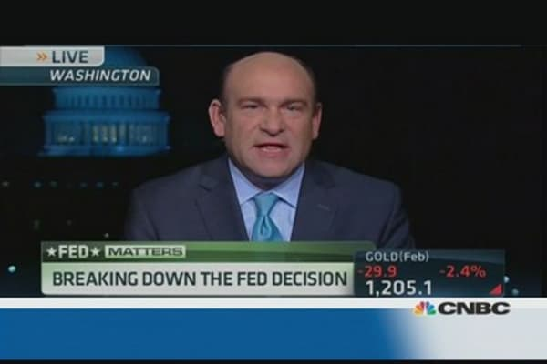 Liesman's call on Fed taper decision