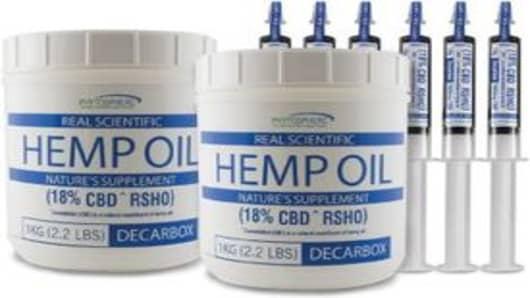Real Scientific Hemp Oil (RSHO)