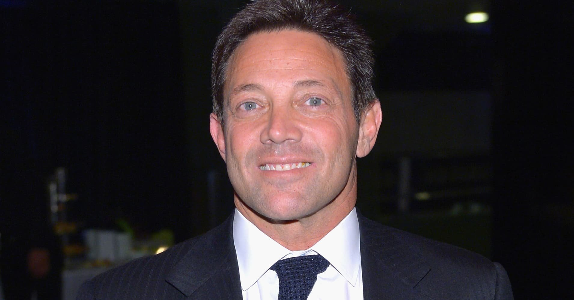 Writer Jordan Belfort attends the 'The Wolf Of Wall Street' premiere after party at Roseland Ballroom on December 17, 2013 in New York City.