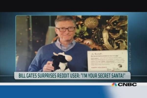 Bill Gates: Tech mogul, billionaire and Secret Santa?