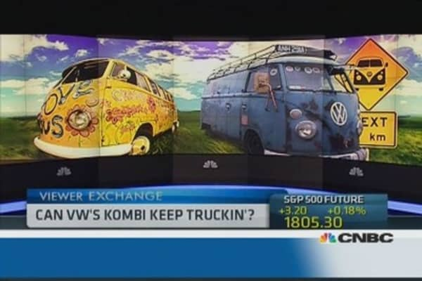 Can VW's Kombi keep truckin'?