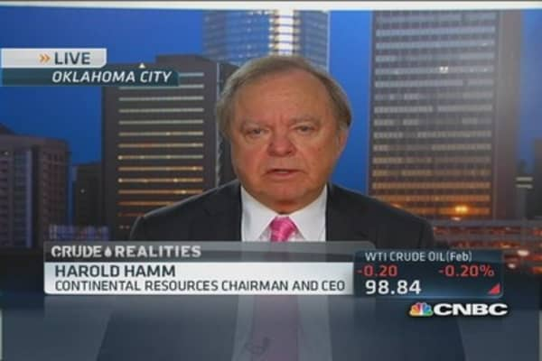 There's no oil glut in the US: Hamm