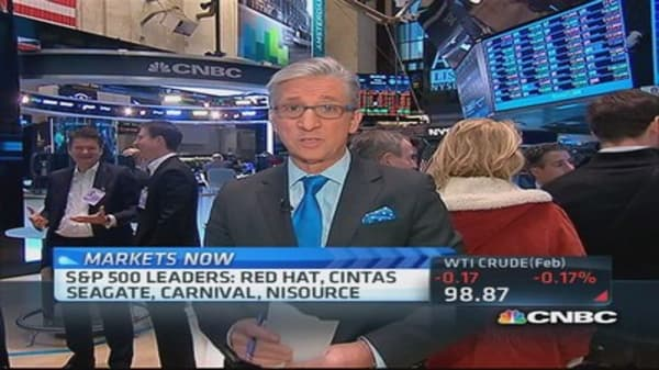 Pisani's markets: Stocks gain on GDP growth