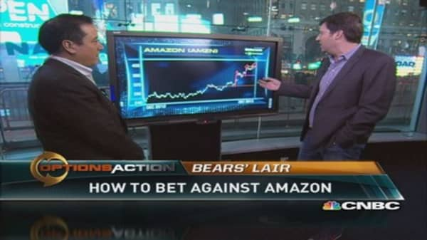 Here's how to bet against Amazon