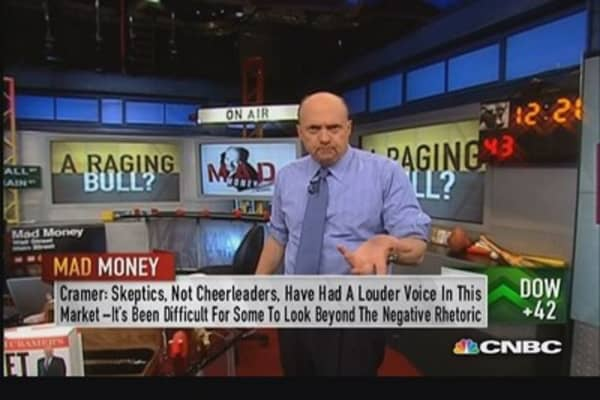 In a true bull market: Cramer