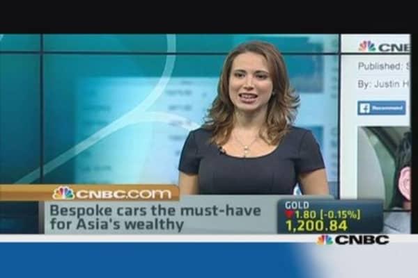 The latest trend in Asia's luxury auto market