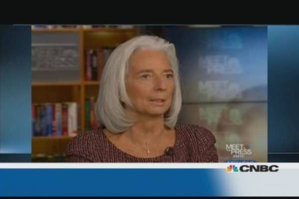 US economy will grow faster in 2014: IMF's Lagarde