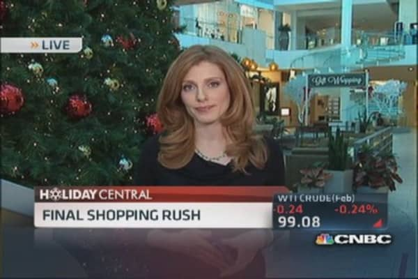 Holiday retail: Where shoppers are spending