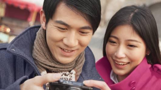 Premium Chinese tourists