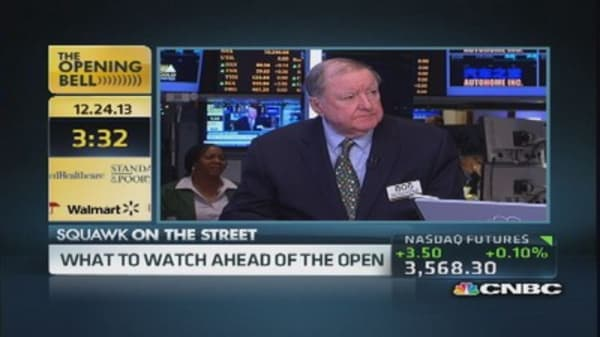 Cashin: Santa Claus rally will push us along