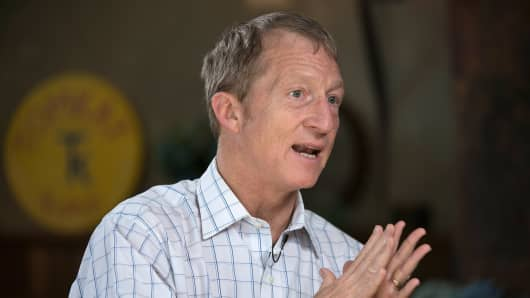 The rich are a varied group with a range of opinions. While Thomas Steyer, founder of Farallon Capital Management, pictured here, opposes the Keystone Pipeline, other wealthy individuals such as T. Boone Pickens support it. That complicates studies about the wealthy's political views.