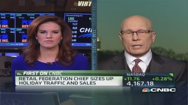Shortened retail season led to promotional environment: NRF CEO