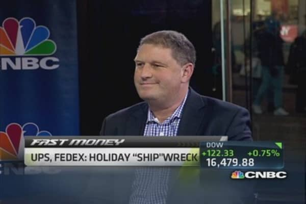 Opportunity in UPS & FedEx?