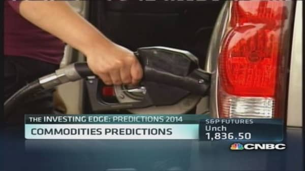2014 Commodities Predictions: Fill up for less