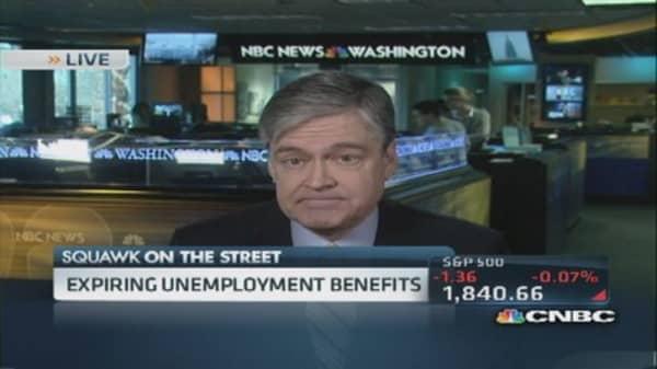 Expiring unemployment benefits