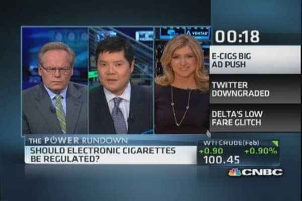 Big e-cigs ad push on the way