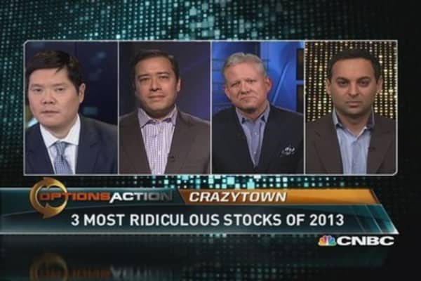3 most ridiculous stocks of 2013
