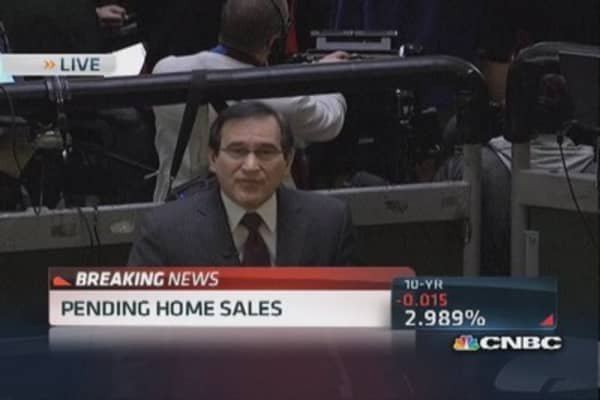 November pending home sales up 0.2%