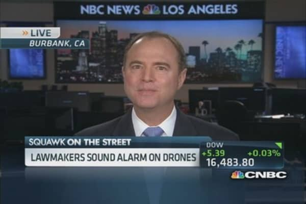Drones concern privacy: Rep. Schiff