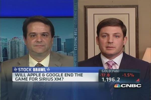 Will Apple & Google kill Sirius?