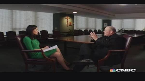 Cardinal Dolan on free market