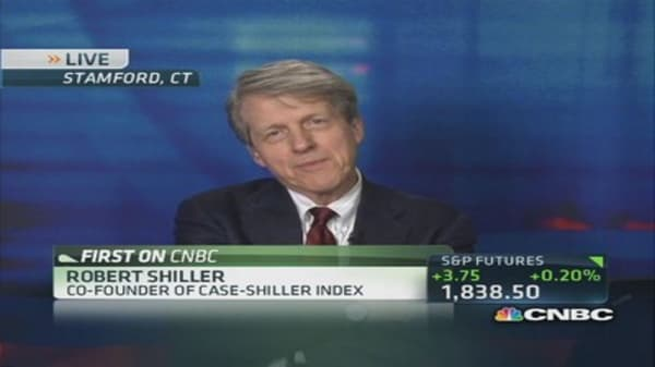 Case-Shiller October home prices up 13.6%
