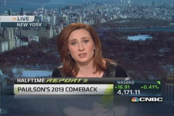 John Paulson's recovery
