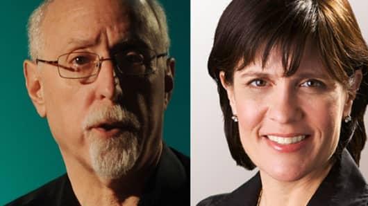 Walter Mossberg and Kara Swisher