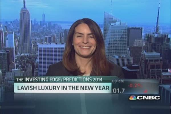 Luxury brand predictions for 2014
