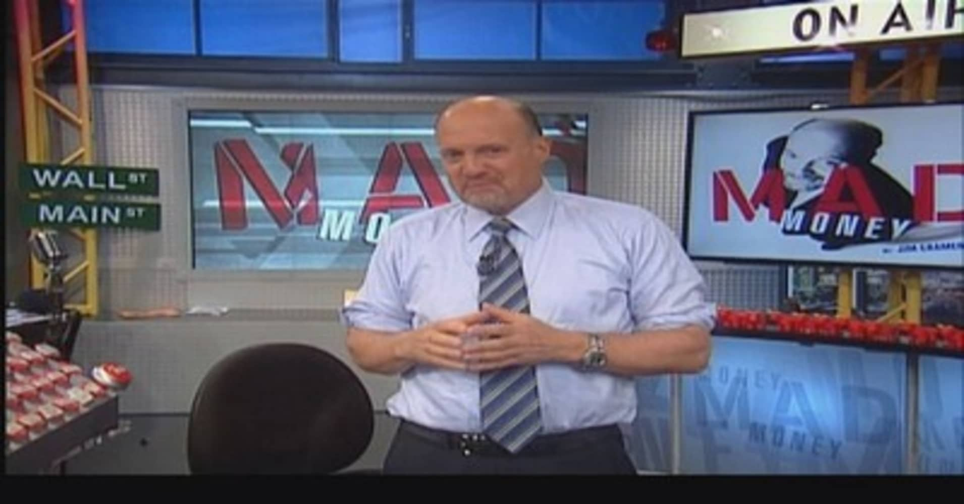 Mad Money Jim Cramer's love for stocks