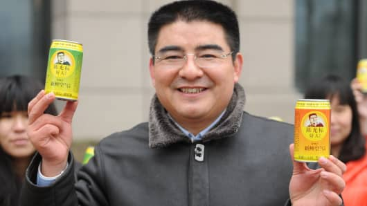 Chen Guangbiao, Chairman of Jiangsu Huangpu Recycling Resources.