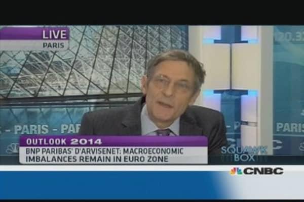 Imbalances remain in euro zone: Pro