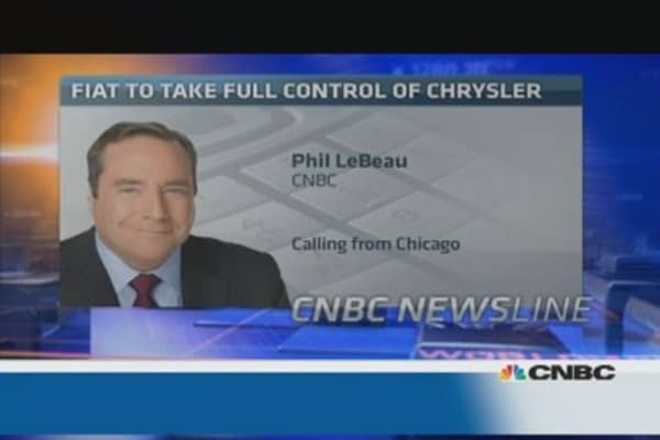 Fiat/Chrysler: It is 'the best outcome'